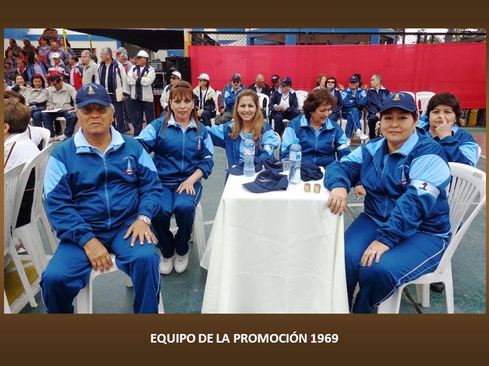 EQUIPO DE LA PROMOCIÓN 1968 SI GANAMOS, LES INVITO UNA CACHEMA FRITA
