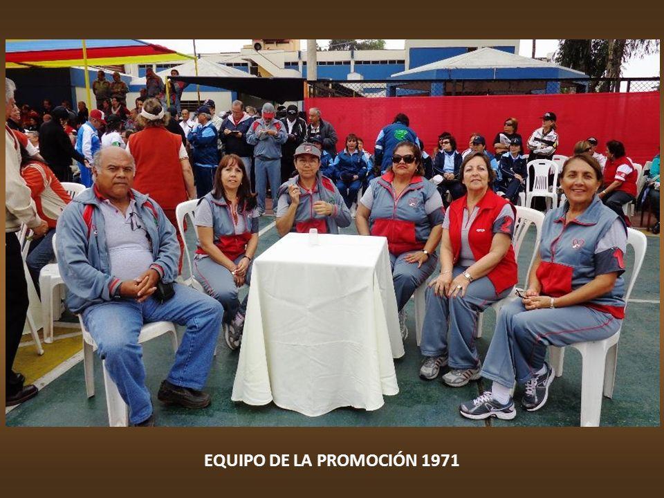 EQUIPO DE LA PROMOCIÓN 1970