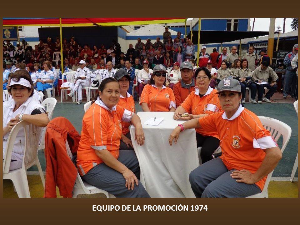 EQUIPO DE LA PROMOCIÓN 1972