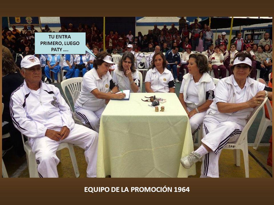 EQUIPO DE LA PROMOCIÓN 1974