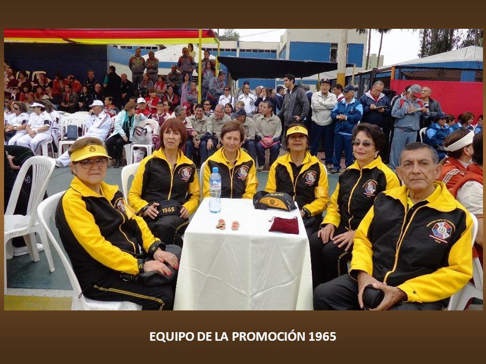 EQUIPO DE LA PROMOCIÓN 1965