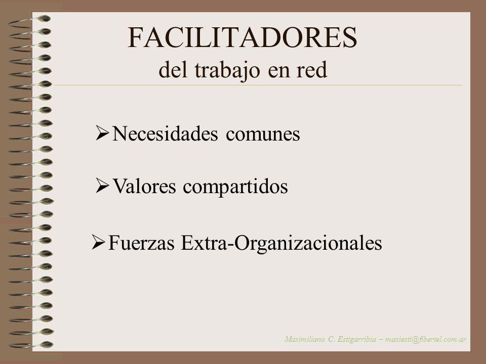 Ventajas del trabajo en Red – 2 – Promueve la mejora constante de la calidad de los servicios Brinda capacitación permanente a sus miembros Posibilita
