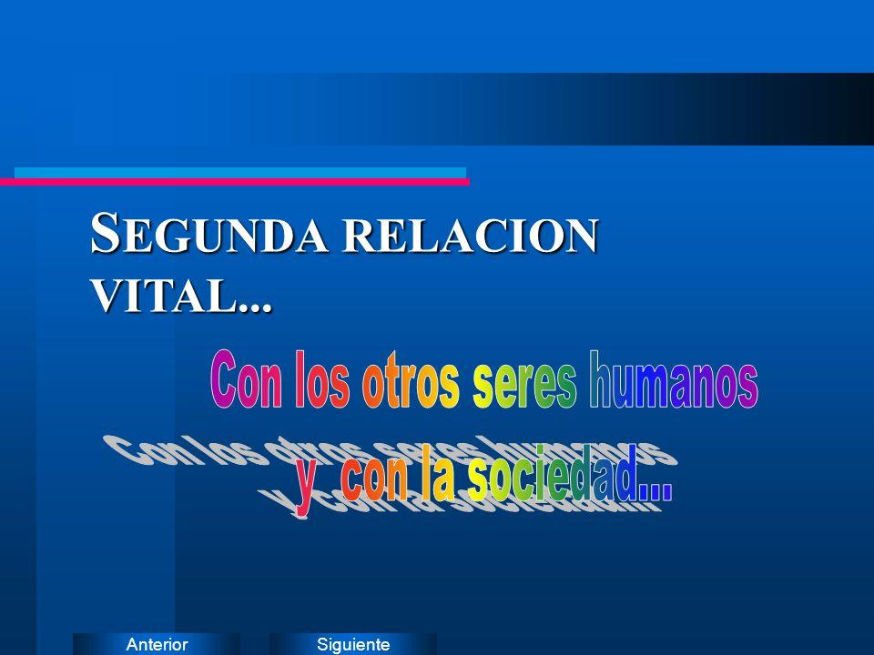 SiguienteAnterior S EGUNDA RELACION VITAL...