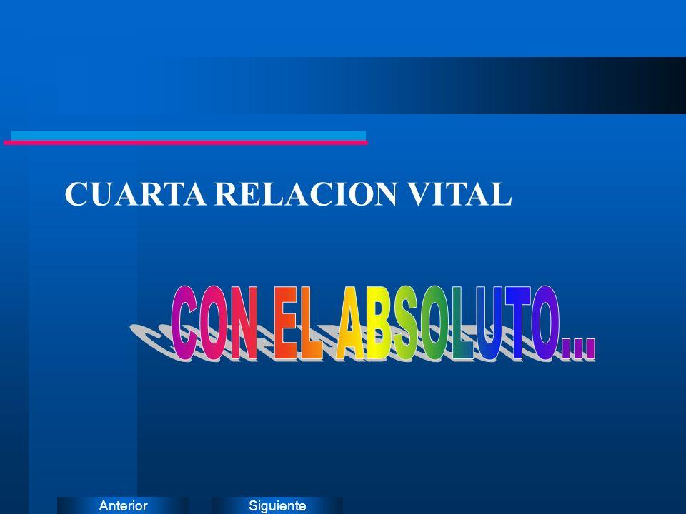 SiguienteAnterior CUARTA RELACION VITAL