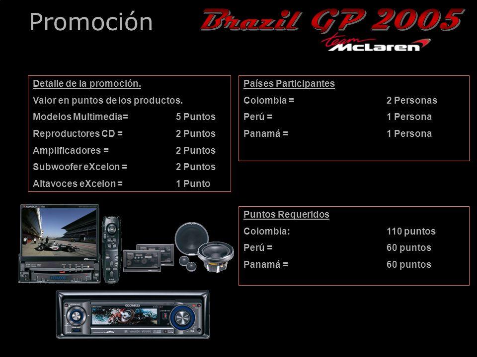 26th December, 2004 Promoción Detalle de la promoción.