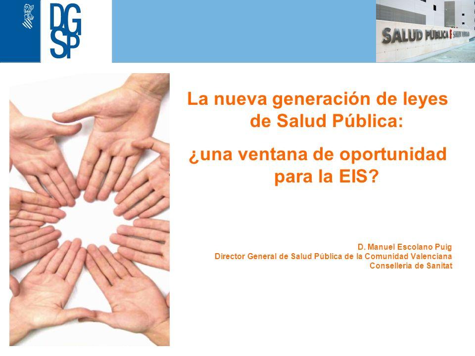 1 Evaluación de la Cartera de Servicios (I) Decreto 98/2009, de 17 de julio, del Consell, por el que se aprueba la Cartera de Servicios de Salud Pública de la Comunitat Valenciana