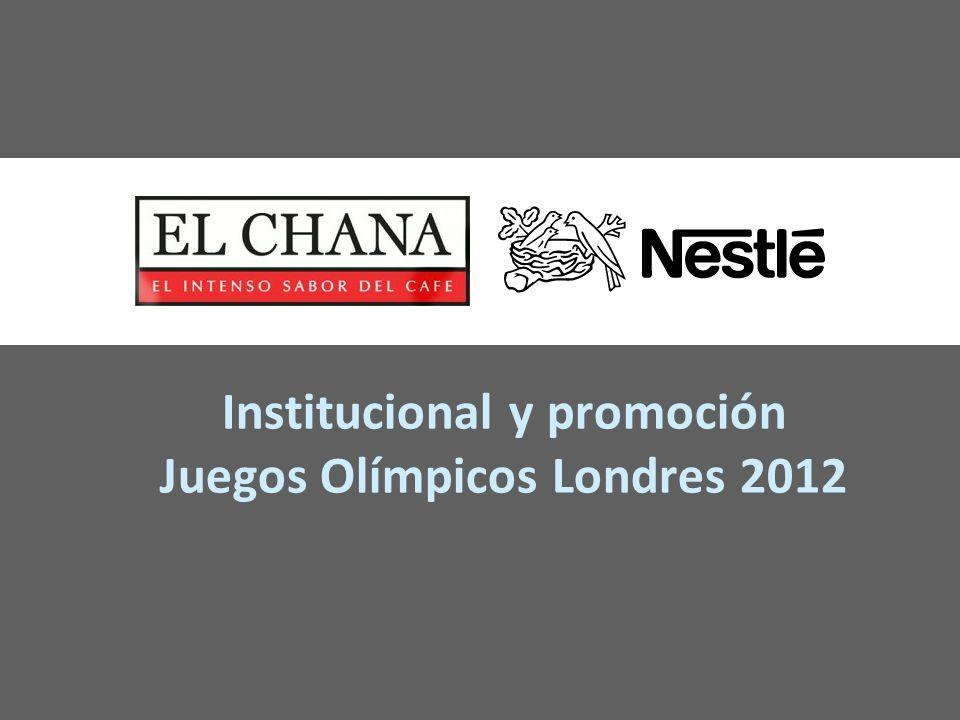 Institucional y promoción Juegos Olímpicos Londres 2012