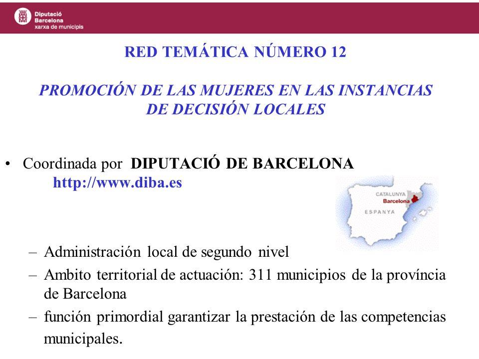 SOCIOS DE LA RED La red temática está constituida por: –un máximo de 200 colectividades locales, miembros de pleno derecho, con una composición constituida por 60% de latinoamérica y 40% de la U.E.