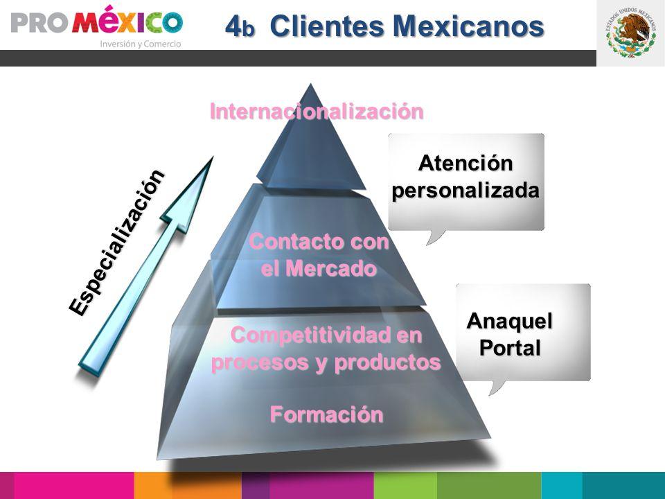Anaquel Anaquel Portal Portal Especialización Contacto con el Mercado Internacionalización Competitividad en procesos y productos Formación Atenciónpe