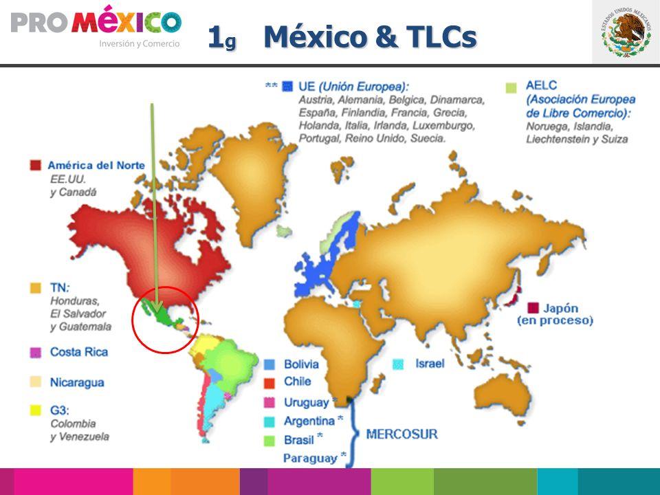 1 g México & TLCs 1 g México & TLCs