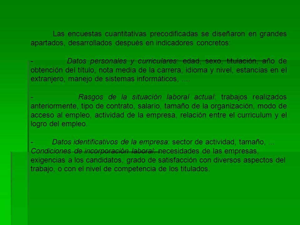 Requisitos de las empresas contratantes.