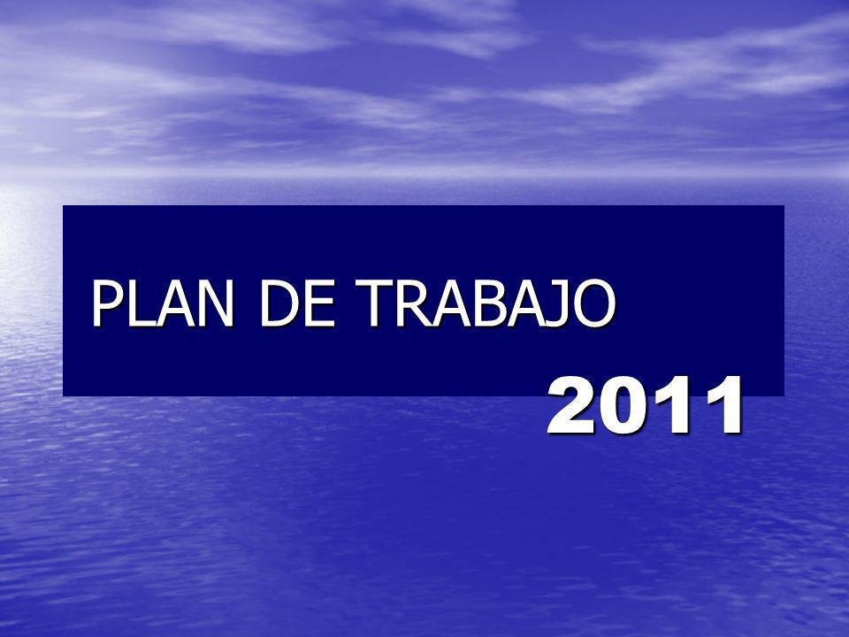 PLAN DE TRABAJO PLAN DE TRABAJO 2011