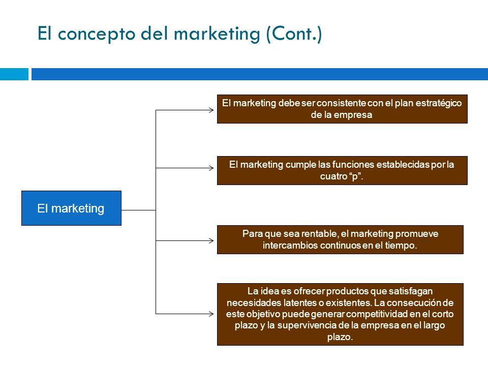 Decisiones sobre la distribución (placement) Estas decisiones tiene que ver con mover el producto desde la planta de la empresa a los consumidores finales.