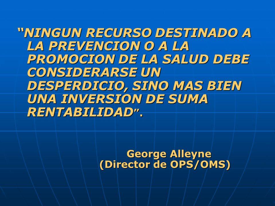 OBJETIVOS: Promover el desarrollo: Promover el desarrollo: Del Fortalecimiento del Primer Nivel de Atención Del Fortalecimiento del Primer Nivel de Atención De un modelo de Promoción de la Salud y de Prevención de la Enfermedad en pro de la calidad de vida De un modelo de Promoción de la Salud y de Prevención de la Enfermedad en pro de la calidad de vida De un sistema de RECONOCIMIENTO de los servicios, que valore en forma apropiada los cambios perseguidos, teniendo como finalidad una Mejora Continua de la Atención De un sistema de RECONOCIMIENTO de los servicios, que valore en forma apropiada los cambios perseguidos, teniendo como finalidad una Mejora Continua de la Atención