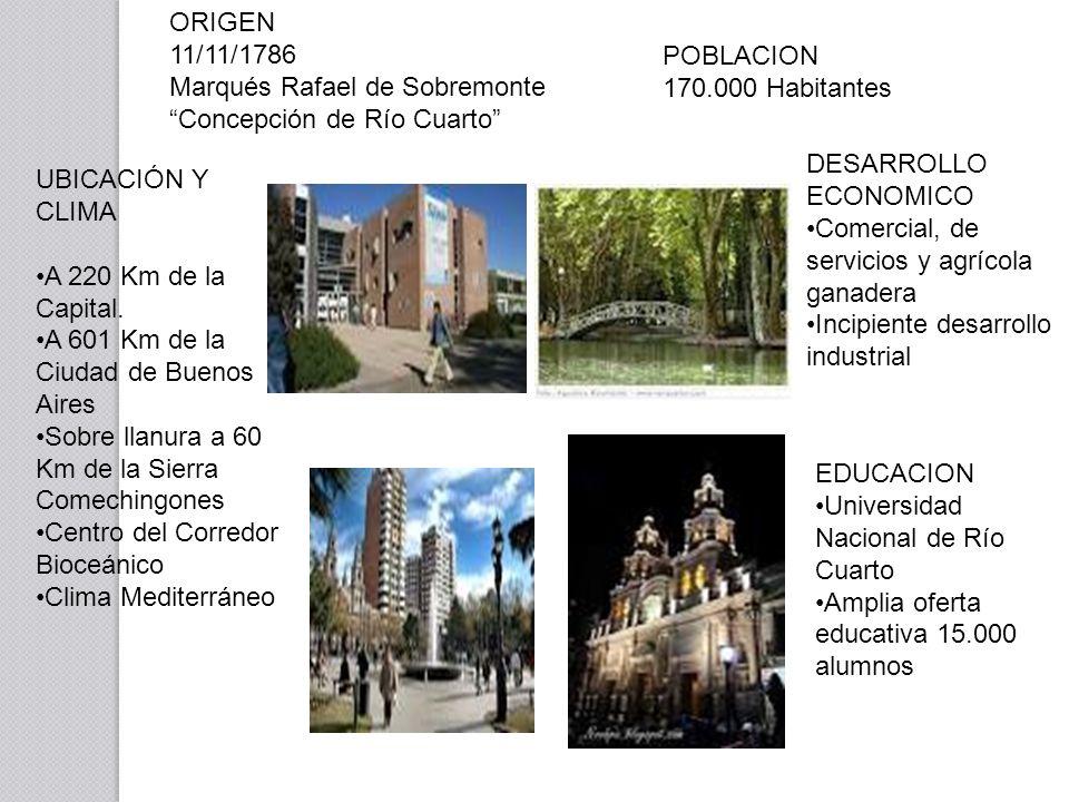 UBICACIÓN Y CLIMA A 220 Km de la Capital.