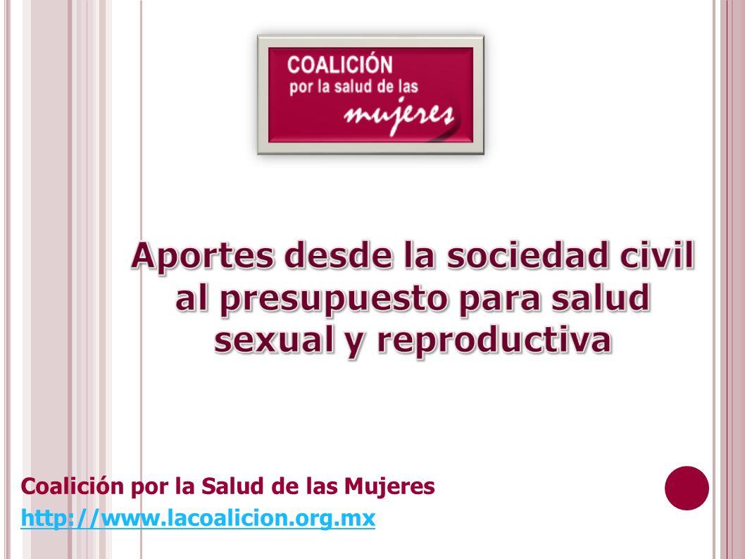 Coalición por la Salud de las Mujeres http://www.lacoalicion.org.mx
