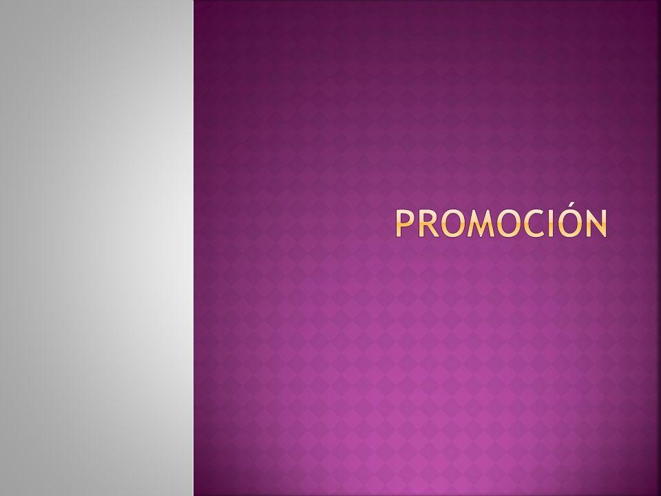 Está formado por la mezcla específica de : PUBLICIDAD, PROMOCIÓN DE VENTAS, RELACIONES PÚBLICAS VENTAS PERSONALES Todas se utiliza en la compañía para alcanzar sus objetivos de publicidad y mercadotecnia.