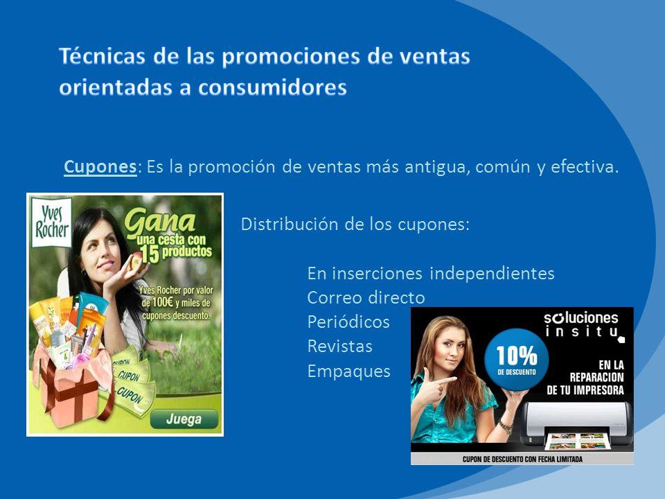 Premios: Son un dispositivo de promoción de ventas para muchas empresas.