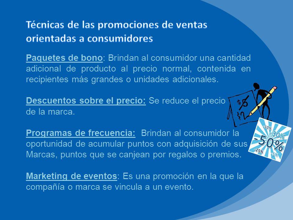 Al igual que las promociones orientadas a los consumidores, éstas deben basarse en objetivos bien definidos, así como saber que se pretende de ellas.