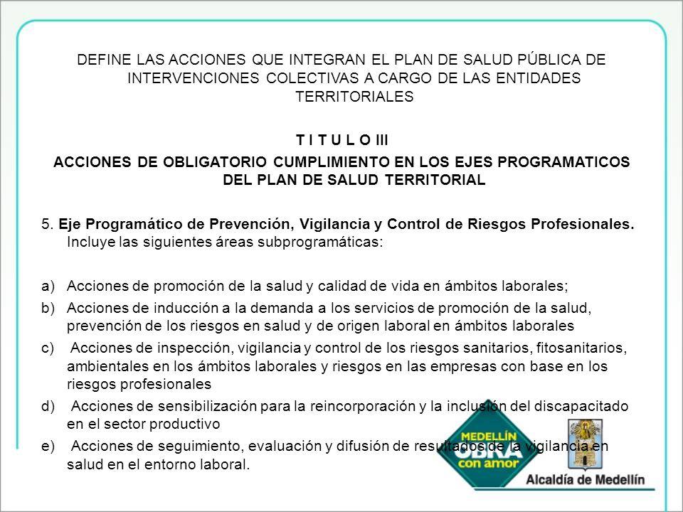 Seguimiento a las acciones de promoción de la salud realizadas por la ARP EN SUS EMPRESAS afiliadas.