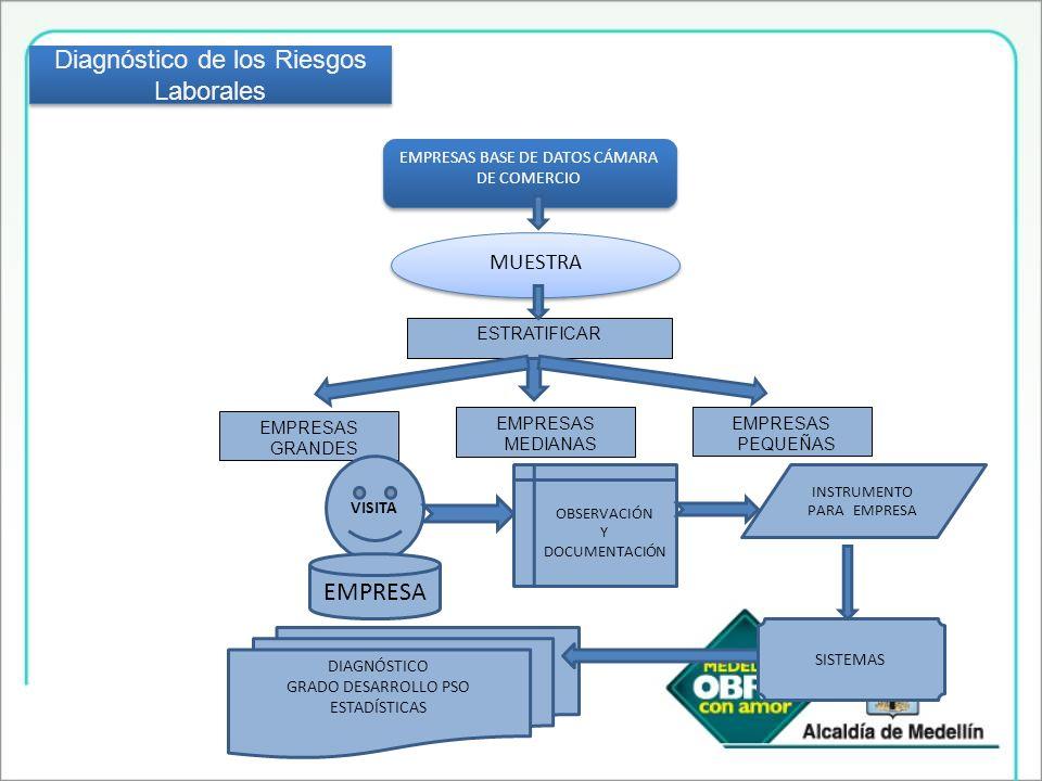 Fomento de la investigación en salud ocupacional (cofinanciación y publicación) A mas de 850 empresas y 4500 trabajadores infor4males se brindó formación en salud ocupacional y prevención de riesgos.