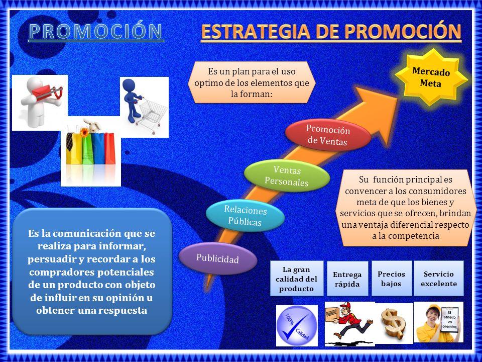 Es cualquier forma de comunicación pagada, impersonal, en un solo sentido acerca de un producto o una organización.