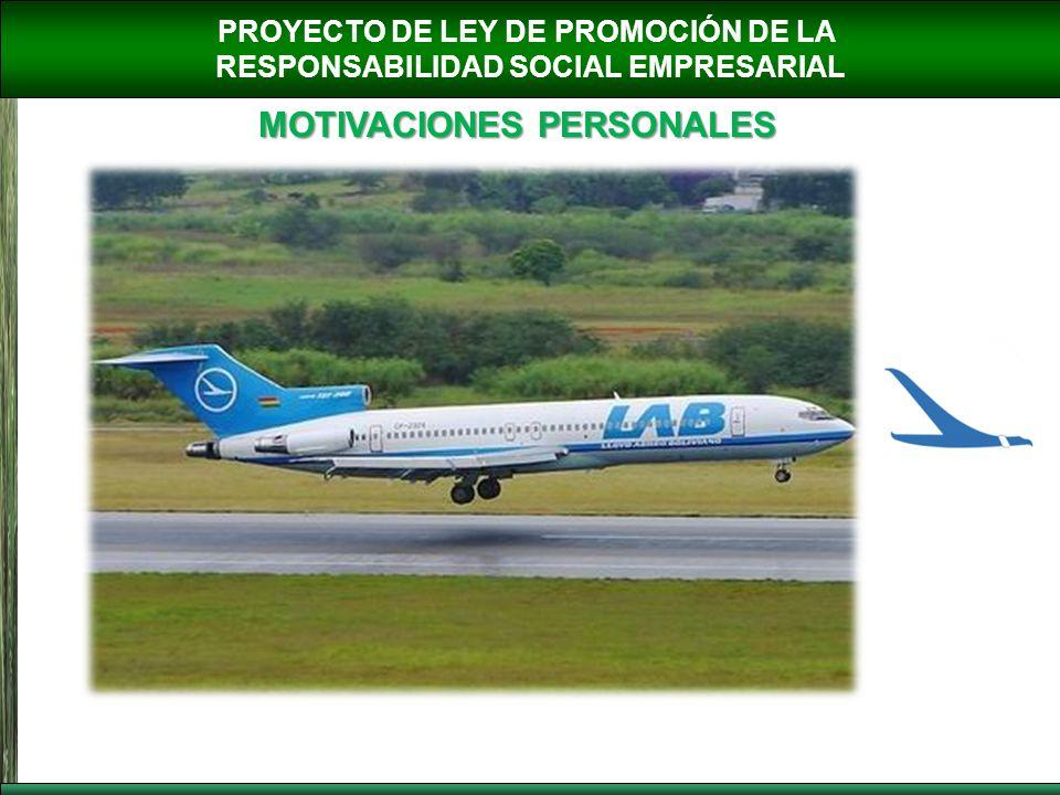 PROYECTO DE LEY DE PROMOCIÓN DE LA RESPONSABILIDAD SOCIAL EMPRESARIAL MOTIVACIONES PERSONALES http://www.boliviahoy.com/modules/news/images/2003/junio/10asbun.jpg