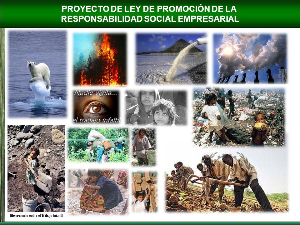 PROYECTO DE LEY DE PROMOCIÓN DE LA RESPONSABILIDAD SOCIAL EMPRESARIAL CAPÍTULO III PROMOCIÓN, VALORACIÓN Y DIFUSIÓN DE LA RESPONSABILIDAD SOCIAL EMPRESARIAL Artículo 12.