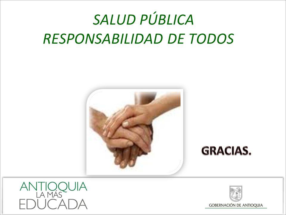 SALUD PÚBLICA RESPONSABILIDAD DE TODOS