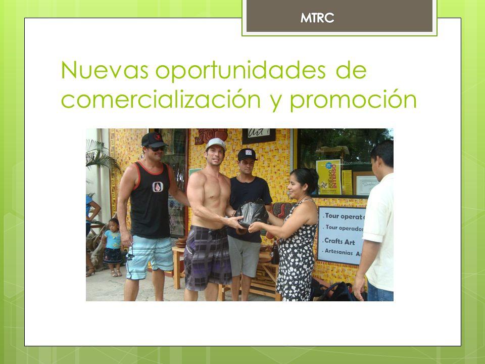 Nuevas oportunidades de comercialización y promoción