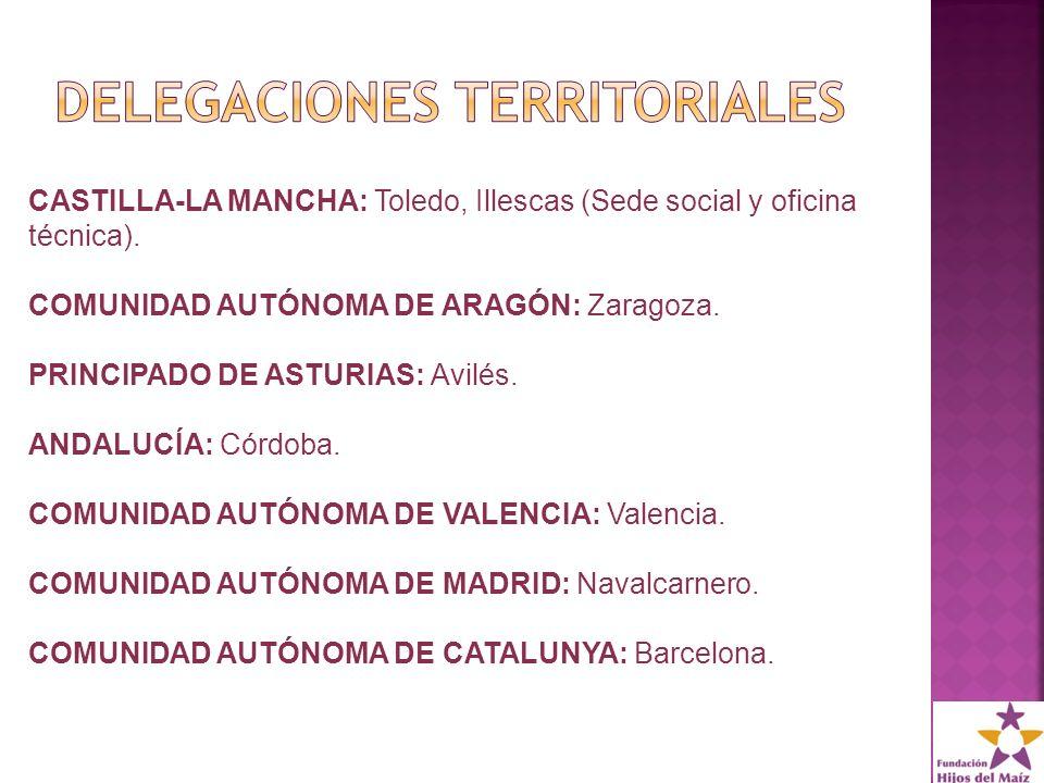 CASTILLA-LA MANCHA: Toledo, Illescas (Sede social y oficina técnica).