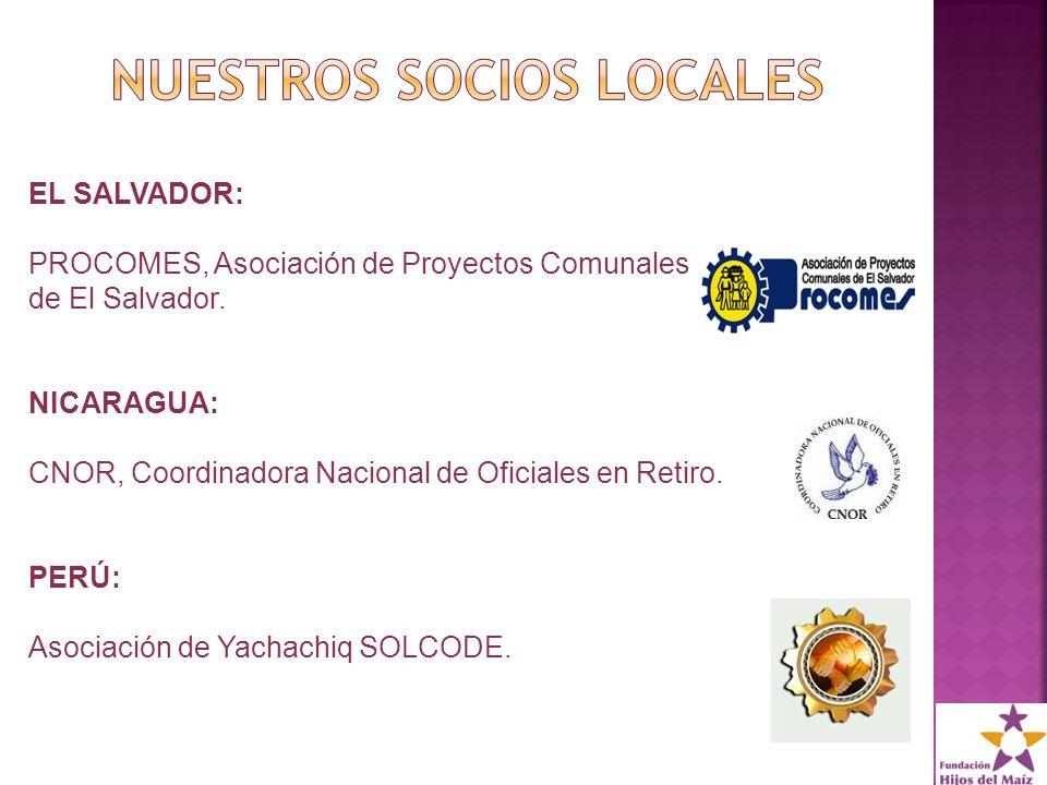 EL SALVADOR: PROCOMES, Asociación de Proyectos Comunales de El Salvador.