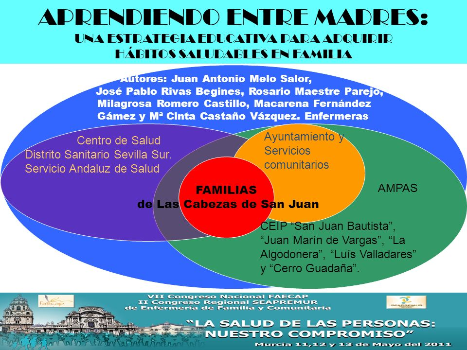 Justificación Grupo de Trabajo PIOBIN Las Cabezas 2010Distrito Sanitario Sevilla Sur