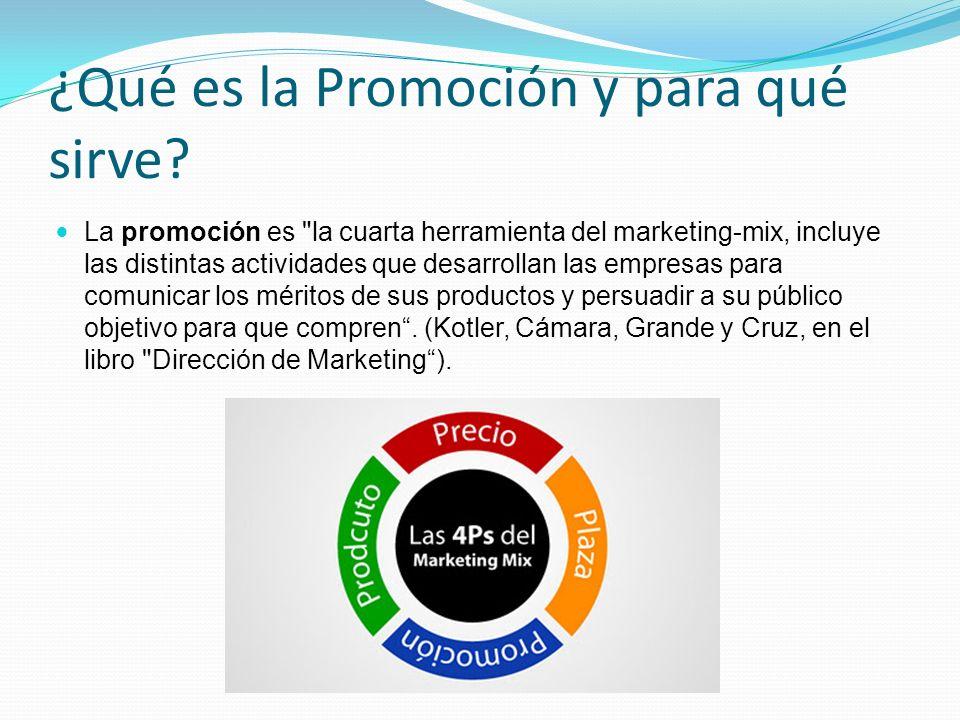 ¿Qué es la Promoción y para qué sirve? La promoción es