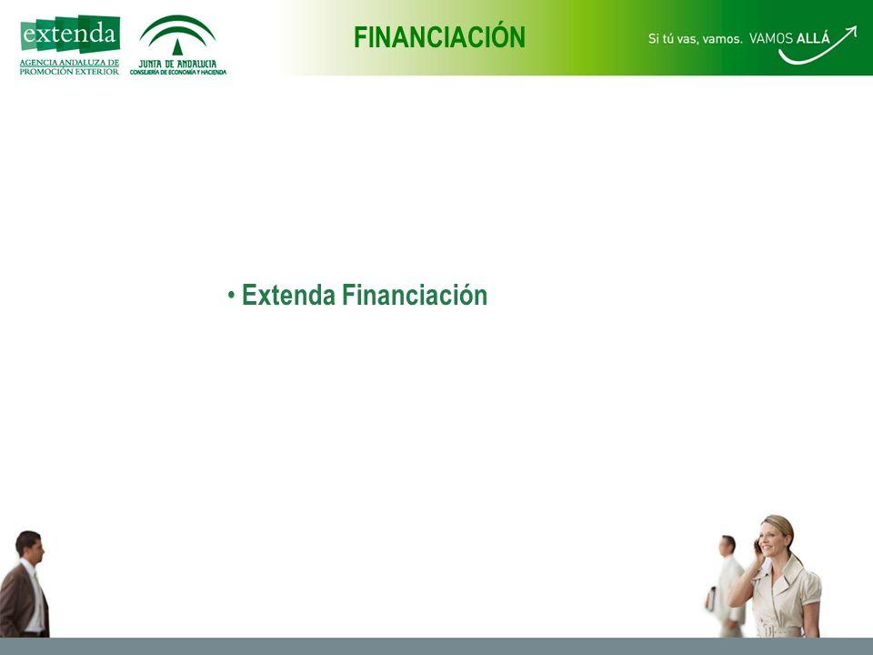 Extenda Financiación FINANCIACIÓN