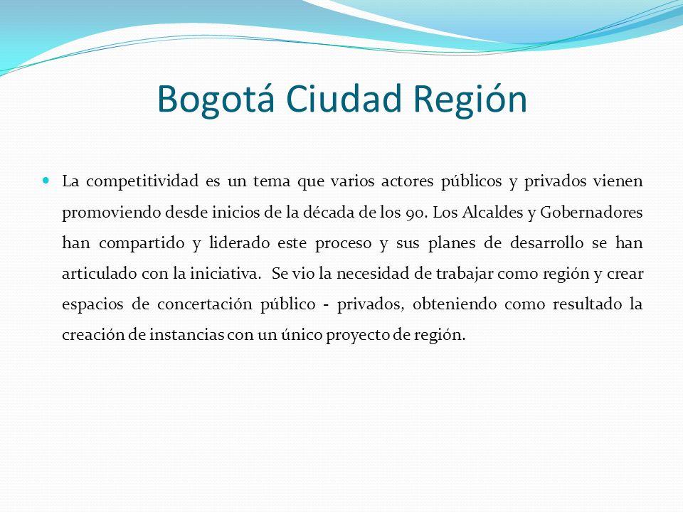 La competitividad es un tema que varios actores públicos y privados vienen promoviendo desde inicios de la década de los 90. Los Alcaldes y Gobernador