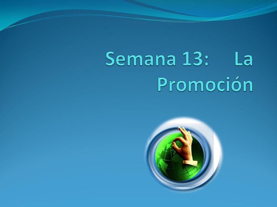 Contenido: 1.Definición 2. Objetivo 3. Plan de promoción 4.