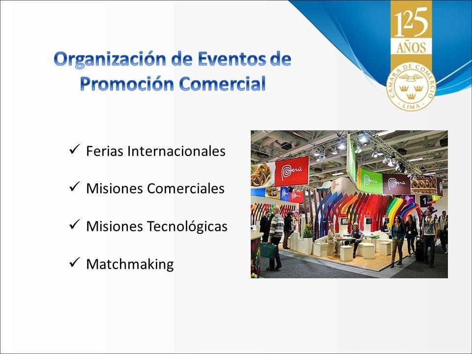Ferias Internacionales Misiones Comerciales Misiones Tecnológicas Matchmaking