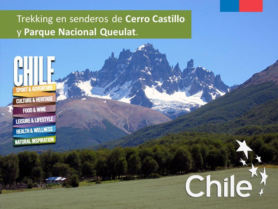 Trekking en senderos de Cerro Castillo y Parque Nacional Queulat.
