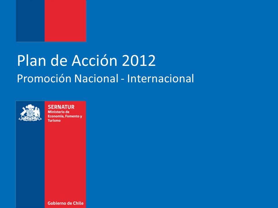 Plan de Acción 2012 Promoción Nacional - Internacional