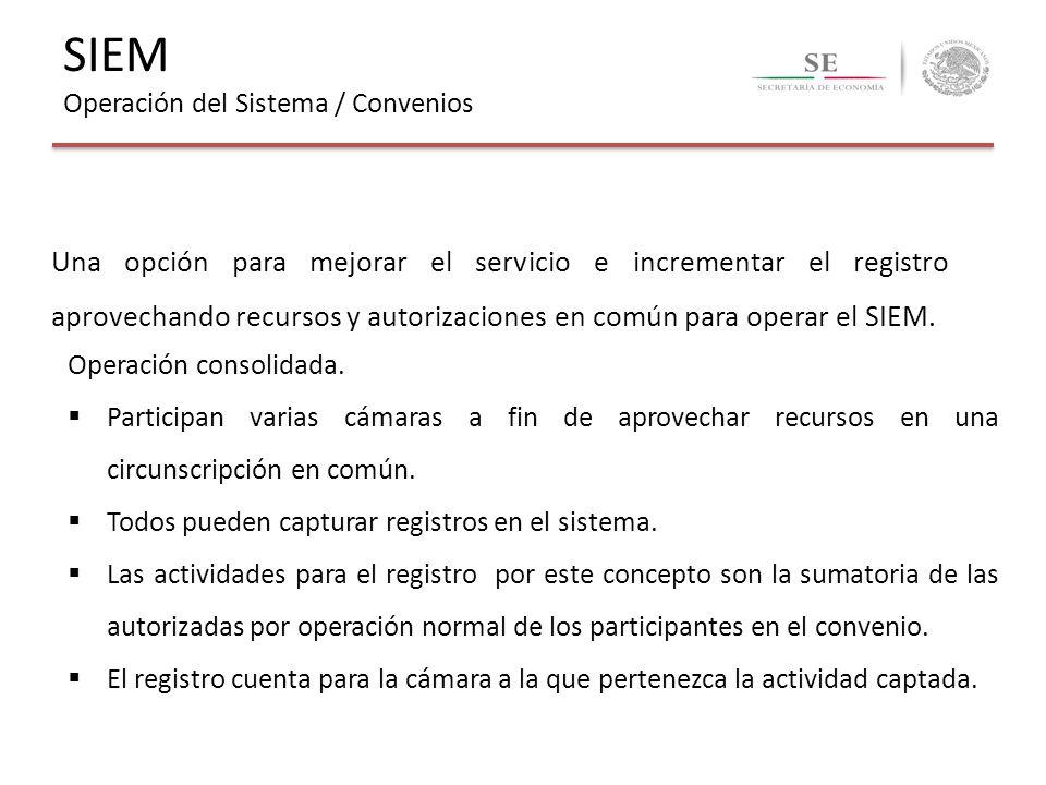 Una opción para mejorar el servicio e incrementar el registro aprovechando recursos y autorizaciones en común para operar el SIEM. Operación consolida