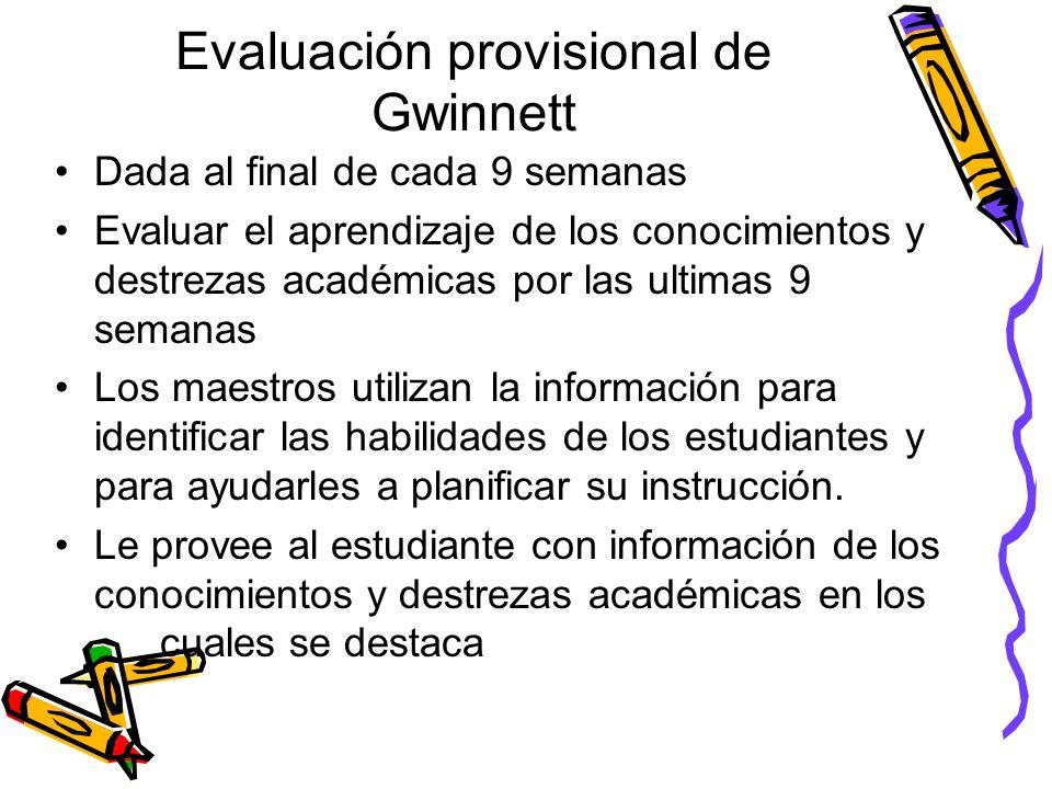 Evaluación de Escritura de 8 vo. grado Requisitos para pasar Una evaluación de escritura en 8vo. Grado requerida por el estado Cada estudiante será ev