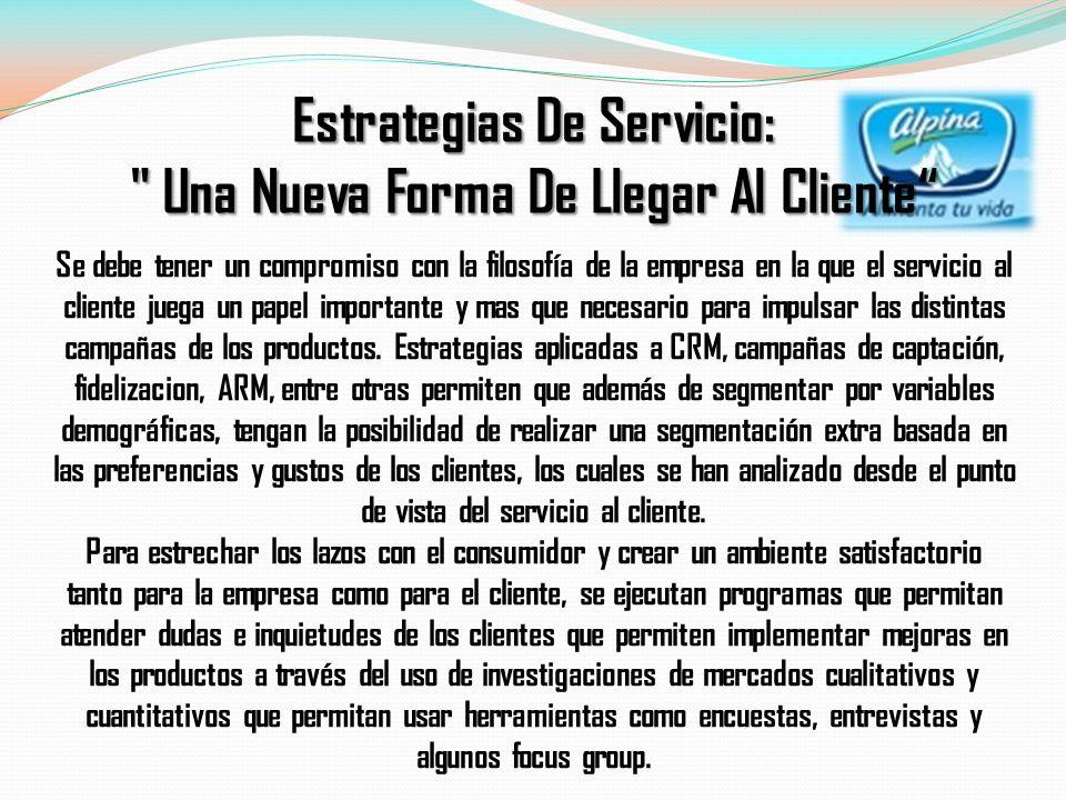 Se debe tener un compromiso con la filosofía de la empresa en la que el servicio al cliente juega un papel importante y mas que necesario para impulsa