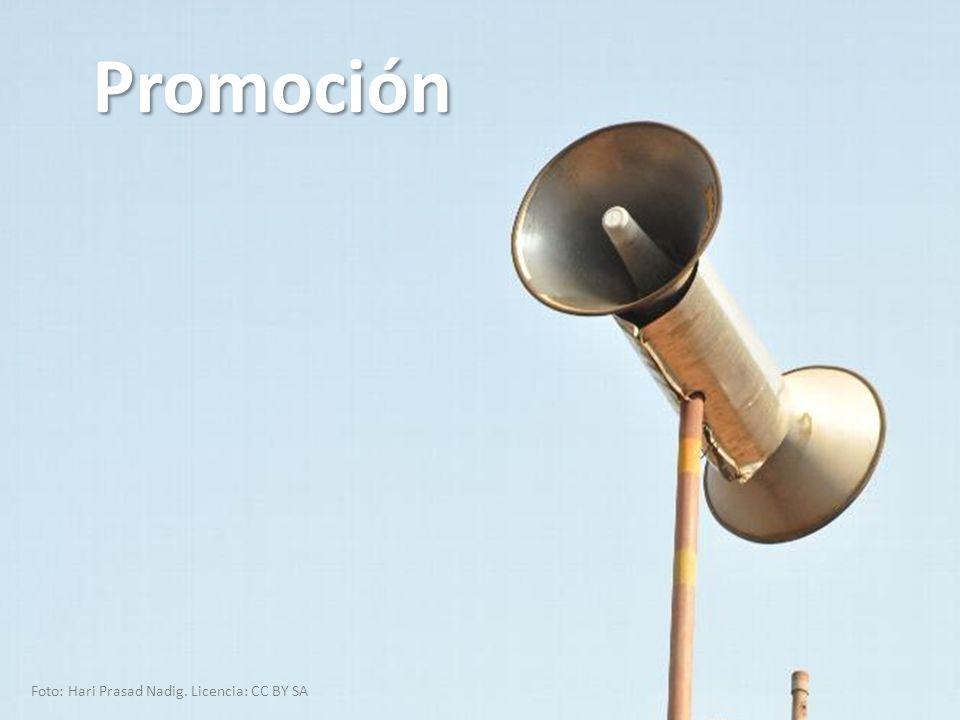 Promoción Foto: Hari Prasad Nadig. Licencia: CC BY SA