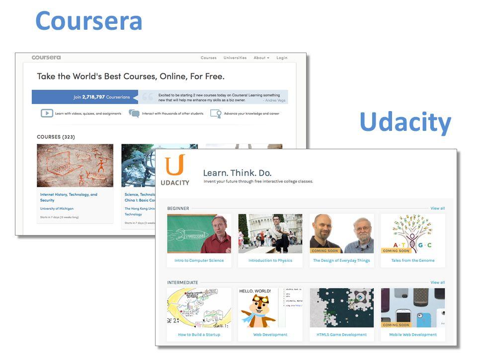 Coursera Udacity