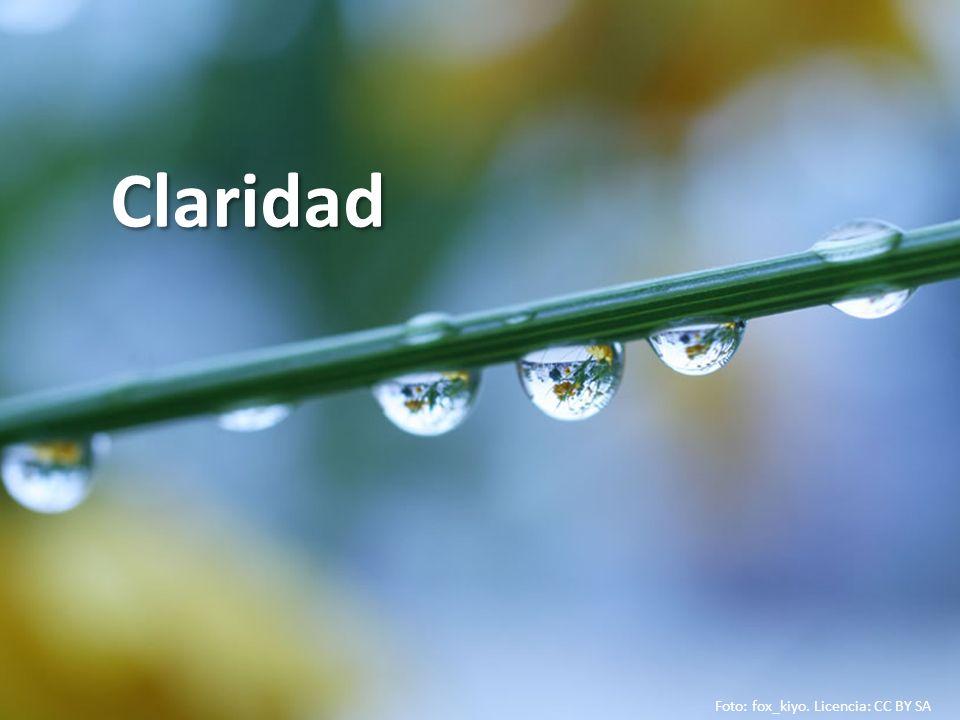 Claridad Foto: fox_kiyo. Licencia: CC BY SA