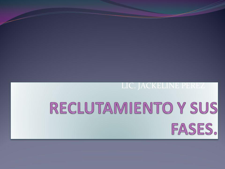 LIC. JACKELINE PEREZ