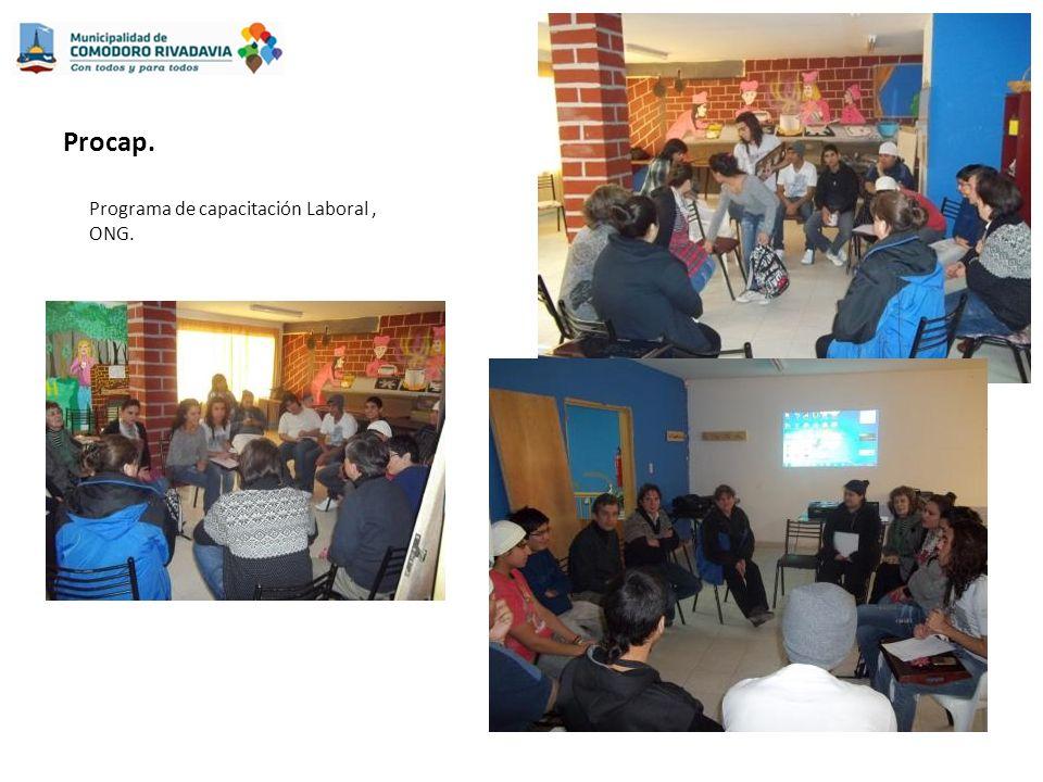 Procap. Programa de capacitación Laboral, ONG.