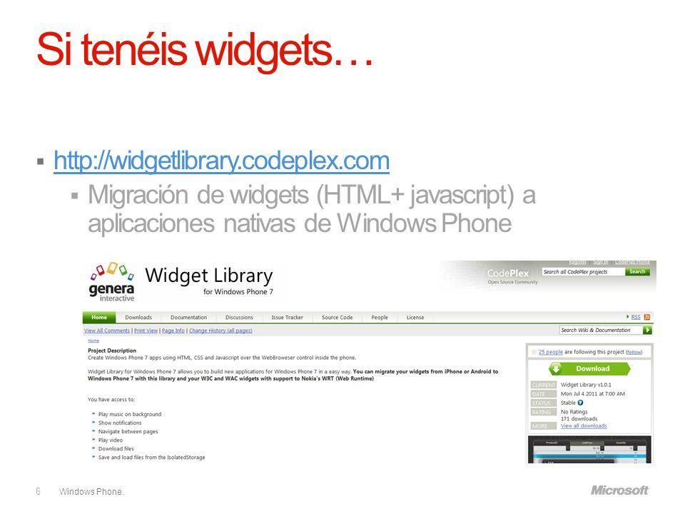 Windows Phone. Consigue el libro de Programación en Silverlight para Windows Phone