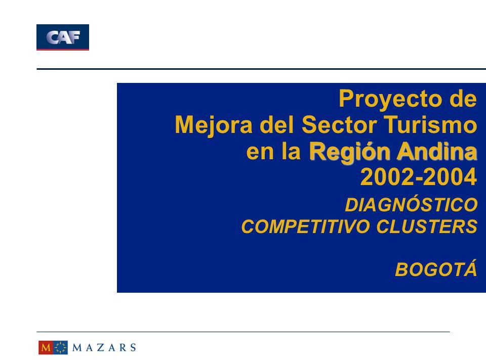 12 Visión MAZARS Relación factores competitividad ã Elementos estructurales de los cluster turísticos